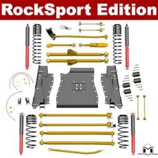 MetalCloak - 7188 -LJ Lock-N-Load Long-Arm Suspension System, RockSport Edition, 4.5 inch/6 inch