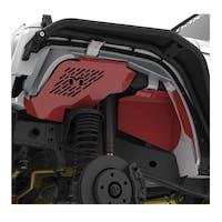 Metalcloak 3291 Jeep Wrangler JK Vented Aluminum Replacement Inner Fender Set