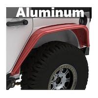 Metalcloak 3400-AL Jeep Wrangler JK Aluminum Overland Tube Fenders