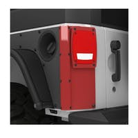 Metalcloak 3430 Jeep Wrangler JK ExoCorner LED Tail Light Kit