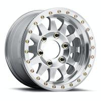 Method Race Wheels MR10179050312B - MR101 Beadlock, 17x9, -12mm Offset, 5x5, 71.5mm Centerbore, Raw Machined , w/ BH-H24125