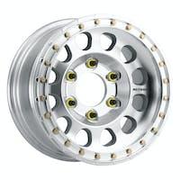 Method Race Wheels MR10379055312B - MR103 Beadlock, 17x9, -12mm Offset, 5x5.5, 108mm Centerbore, Raw Machined , w/ BH-H24125