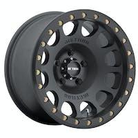 Method Race Wheels MR10579050538B - MR105 Beadlock, 17x9, -38mm Offset, 5x5, 71.5mm Centerbore, Matte Black , w/ BH-H24125