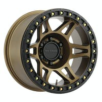 Method Race Wheels MR10679050944B - MR106 Beadlock, 17x9, -44mm Offset, 5x5, 71.5mm Centerbore, Method Bronze , w/ BH-H24125