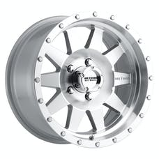 Method Race Wheels MR30168012300 - MR301 The Standard, 16x8, 0mm Offset, 5x4.5, 83mm Centerbore, Machined/Clear Coat
