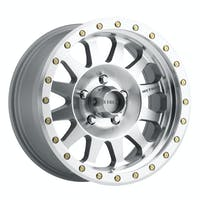 Method Race Wheels MR30478555300 - MR304 Double Standard, 17x8.5, 0mm Offset, 5x5.5, 108mm Centerbore, Machined/Clear Coat