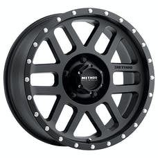 Method Race Wheels MR30689050512N - MR306 Mesh , 18x9, -12mm Offset, 5x5, 94mm Centerbore, Matte Black