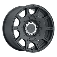 Method Race Wheels MR30878550500 - MR308 Roost, 17x8.5, 0mm Offset, 5x5, 71.5mm Centerbore, Matte Black