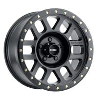 Method Race Wheels MR30978555500 - MR309 Grid, 17x8.5, 0mm Offset, 5x5.5, 108mm Centerbore, Matte Black