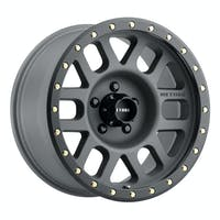 Method Race Wheels MR30978550800 - MR309 Grid, 17x8.5, 0mm Offset, 5x5, 94mm Centerbore, Titanium/Black Street Loc