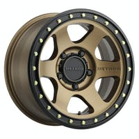 Method Race Wheels MR31078555900 - MR310 Con6, 17x8.5, 0mm Offset, 5x5.5, 108mm Centerbore, Method Bronze/Black Street Loc