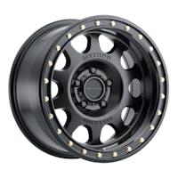 Method Race Wheels MR31178550500 - MR311 Vex, 17x8.5, 0mm Offset, 5x5, 71.5mm Centerbore, Matte Black