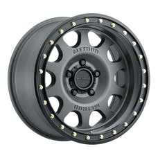 Method Race Wheels MR31178550800 - MR311 Vex, 17x8.5, 0mm Offset, 5x5, 71.5mm Centerbore, Titanium/Black Street Loc
