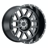 Method Race Wheels MR60621050524N - MR606 Mesh, 20x10, -24mm Offset, 5x5, 71.5mm Centerbore, Matte Black