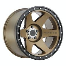 Method Race Wheels MR61021050924N - MR610 Con 6, 20x10, -24mm Offset, 5x5, 71.5mm Centerbore, Method Bronze/Black Street Loc