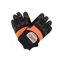 Mile Marker 30-19-G2 Recovery Winch Gloves (black/orange) Heavy Duty (Extra Large)