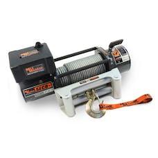 Mile Marker 50141W - SEC8 (ES) Series 8,000 lbs Waterproof Electric Winch, 4.8 HP 12V