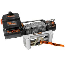 Mile Marker 7650260 - SEC15 (ES) Series 15,000 lbs Waterproof Electric Winch, 5.5 HP 12V