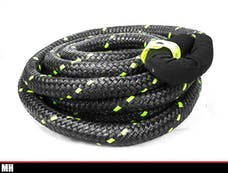 """Monster Hooks MH-RG11230 - MONSTER HOOK ROPE [ 1 1/2"""" ] THICK RATED AT 78,000LBS"""