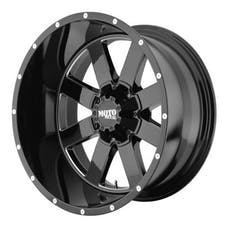 "Moto Metal MO96281035324N - MO962 Wheel Gloss Black, 18""x10"" 5X5 Bolt Pattern, Back Spacing 4.6"""