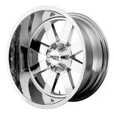 "Moto Metal MO96289035200 - MO962 Wheel Chrome, 18""x9"" 5X5 Bolt Pattern, Back Spacing 5"""