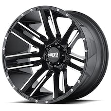 Moto Metal MO97821050524N - RAZOR Wheel 20x10 5x127 Satin Black