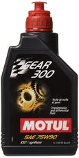 Motul USA, Inc. 105777 GEAR 300 75W90 - 1L - Fully Synthetic Transmission fluid - Ester based