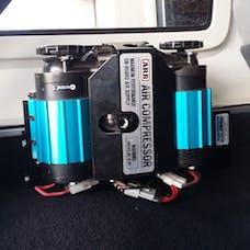 M.O.R.E. ARBJKR Jeep JK Unlimited ARB Dual Compressor Bracket Rear