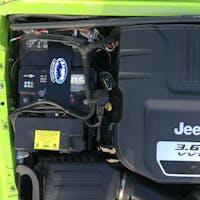 M.O.R.E. JKDBT12 Jeep Wrangler JK Dual Battery Tray