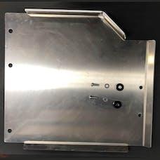 M.O.R.E. JLTCSPALU - JL Transfer Case Skid Plate - Aluminum