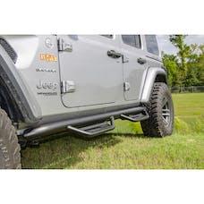 N-FAB HPJ1866-TX Podium LG Step Systems Textured Black Full Length