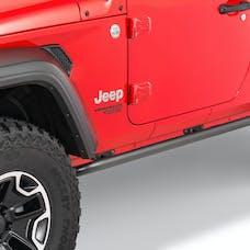 N-FAB JK182RKR - Rock Rails for 18-19 Jeep Wrangler JL 2-Door - Without Step