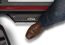 N-FAB PRJ0745-TX Predator PRO Step Systems Textured Black Full Length