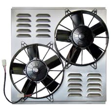 "Northern Radiator Z40094 - Dual 10"" Electric Fan and Shroud"