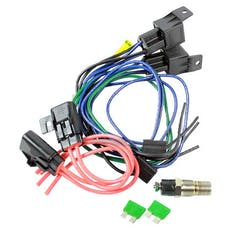 Northern Radiator Z41032 - Fan Wiring Harness Kit with Dual Relay and Temperature Switch