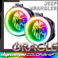 Oracle Lighting 7080-332 2007-2009 Jeep Wrangler JK SMD FL