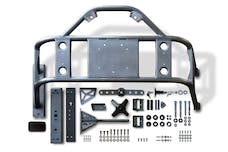 Poison Spyder 17-13-010 - JK Body Mounted Tire Carrier