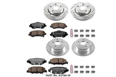 Power Stop LLC K2798-36 Z36 Severe-Duty Truck And Tow 1-Click Brake Kit