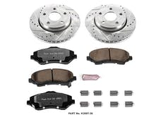 Power Stop LLC K3097-36 Z36 Severe-Duty Truck And Tow 1-Click Brake Kit
