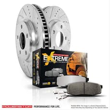 Power Stop LLC KC3097-36 Z36 Extreme Performance Truck And Tow 1-Click Brake Kit w/Calipers