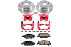 Power Stop LLC KC3097 Z23 Evolution Sport Performance 1-Click Brake Kit w/Calipers