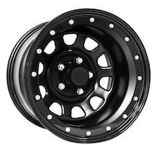 Pro Comp Steel Wheels 252-5865F 15x8 5x4.5 3.75 BS Flat Black D-Window