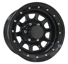 Pro Comp Steel Wheels 252-5885 15x8 5x5.5 3.75in BS Gloss Black D-Window