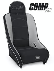 PRP Seats A120110-54 - Competition Pro Suspension Seat Black/Gray with Gray Outline PRP Seats