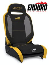 PRP Seats A3101-201 - Enduro Elite Reclining Suspension Seat Black Vinyl PRP Seats