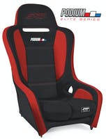 PRP Seats A9101-57 - Podium Elite Suspension Seat Black/Red PRP Seats