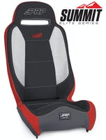 PRP Seats A9301-201 - Summit Elite Suspension Seat Black Vinyl PRP Seats