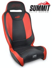 PRP Seats A9301-57 - Summit Elite Suspension Seat Black/Red PRP Seats