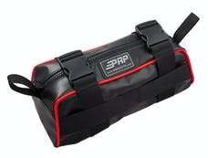 PRP Seats E10-L - Baja Bag Black With Red Piping Vinyl Coated Nylon PRP Seats