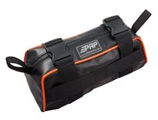 PRP Seats E10-O - Baja Bag Black With Orange Piping Vinyl Coated Nylon PRP Seats